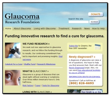 Glaucoma Research Foundation