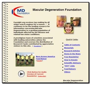 Macular Degeneration Foundation