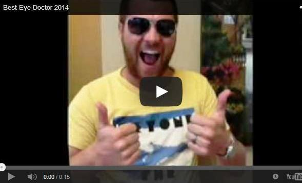 Click to play our Best Eye Doctor 2014 video