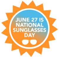 national sunglasses day logo 2018